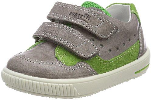Superfit Baby-Jungen Moppy Sneaker, Grau (Smoke Multi), 23 EU