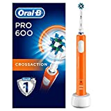 Oral-B PRO 600 CrossAction, Cepillo de dientes eléctrico recargable con tecnología...