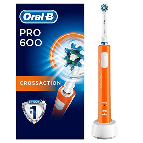 Oral-B PRO 600 CrossAction, Cepillo de dientes eléctrico re