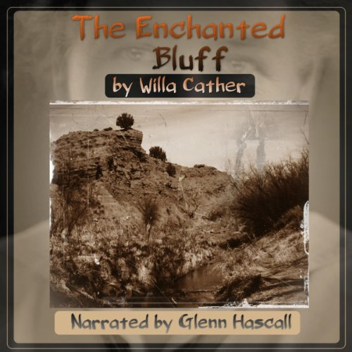 The Enchanted Bluff audiobook cover art