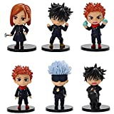 Anime Regalo Anime Modelo Muñeca 6 Tipos de hechizos, Wujo Goku-Stick, Yuren, Su Nuo, Rosa Salvaje, Fu Heihui, en Ambos Lados Juguete Acción Figura Escultura 9cm