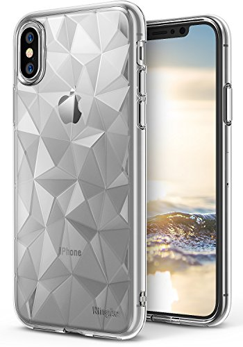 Ringke Air Prism Compatible with iPhone X Case, 3D Design Chic Slim...