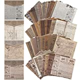 240 Sheets Vintage Scrapbook Paper Supplies Journaling Scrapbooking Material Paper Retro Decorative Craft DIY Papers Junk Journal Vintage Paper for Scrapbooking, Wrapping, Decorating