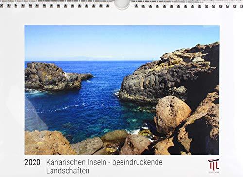 Kanarischen Inseln - beeindruckende Landschaften  2020 - White Edition - Timokrates Kalender, Wandkalender, Bildkalender - DIN A4 (ca. 30 x 21 cm)