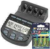 Technoline BC 700 Set caricatore per batterie, colore: Nero
