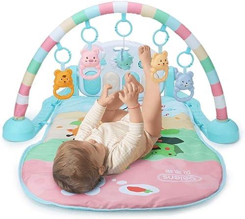 Kinder Pedal Piano Fitness Rahmen Spielzeug 0-1 Jahre alt Kinder Spieldecke 3-6 Monate