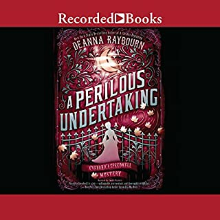 A Perilous Undertaking audiobook cover art