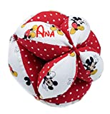 Borda y más Montessori Personalizada de Tela para bebé (Disney Comet Rojo)