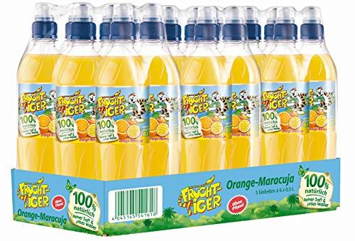 FruchtTiger Orange-Maracuja, 18er Pack (18 x 500 ml)