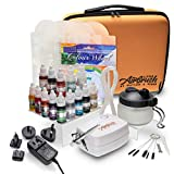 Watson & Webb Master Airbrush Cake Decorating Kit plus 14 bottles