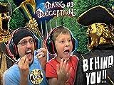 Scary Statues! Run! Dark Deception Pt. 3