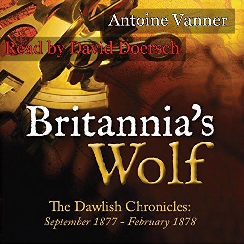 Britannia's Wolf audiobook cover art