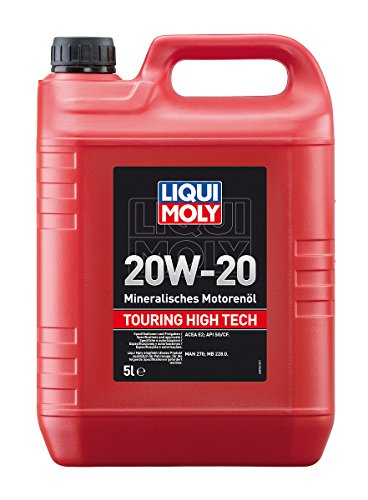 LIQUI MOLY 6964 Touring High Tech Motoröl 20W-20, 5 L