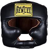 BenLee Rocky Marciano Headguard - Casco Protector para Boxeo, Color Negro (Black) - S-M