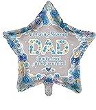 Sensations Globo de recuerdo de la estrella de In Loving Memory of Dad