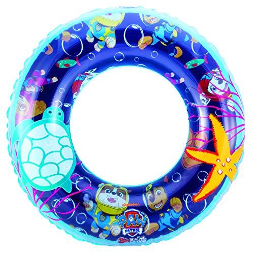 Swimways Kinder BOUÉE PAW Patrol 6043771-Paw Ring, aufblasbarer Schwimmring Design, Multicolour