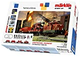Märklin 'Fire Department Starter Set. 230 Volts - Modelos de ferrocarriles y Trenes (HO (1:87), Multi)