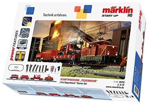 """Märklin Start up 29752 - Startpackung \""""Feuerwehr\"""". 230 Volt. Spur H0"""