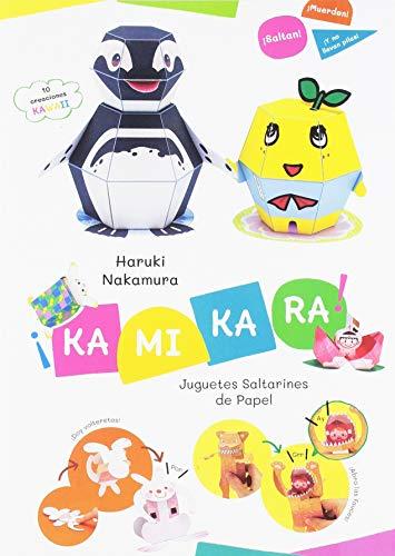 ¡Kamikara!: Juguetes Saltarines de Papel