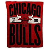 NBA'Clear Out' Super Soft Plush Throw Blanket (Chicago Bulls)