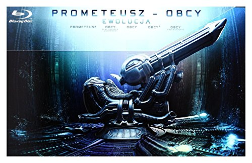 Prometeusz - Obcy: Ewolucja [9xBlu-Ray] (Keine deutsche Version)