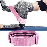 chunnron Bandas Elasticas Musculacion Goma Elastica Fitness Gimnasio Bandas Bandas elásticas para Gimnasio Bandas de Yoga Banda de Resistencia Pink,94cm