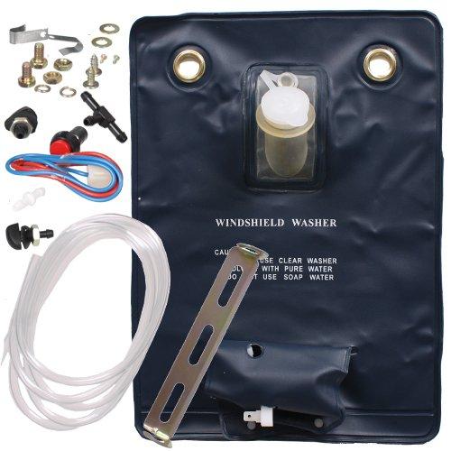 12 V Universal-Scheibenwasch-System / Scheibenwaschanlage / Wassersack / Scheibenwaschpumpe / Scheibenwaschpumpe / 1,8 Liter