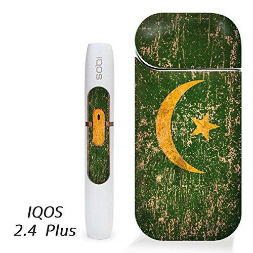 アイコス用 スキンシール ( 2.4Plus 用 ) モーリタニア 国旗 (アンティーク) シール ステッカー iQOS用,