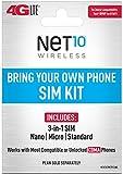 Net10 - Bring Your Own Phone CDMA 3-in-1 Sim Card Kit...