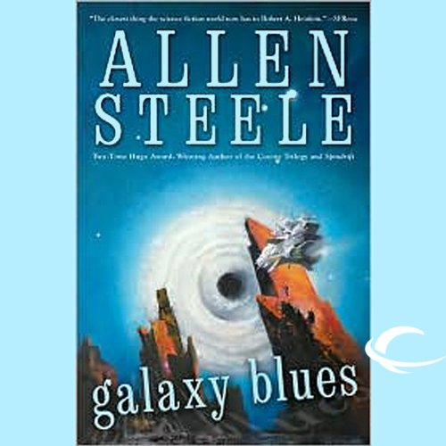 Galaxy Blues audiobook cover art