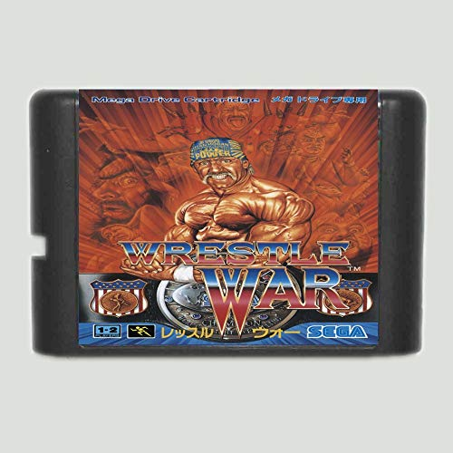 The Crowd Tradensen Wrestle War 16 Bit Md Game Card for Sega Mega Drive for Genesis