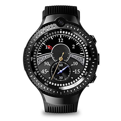 Zeblaze Nano SIM WiFi BT4.0 Mic Herzfrequenz-Multiplikator Sportmodi Damen Herren Smartwatch