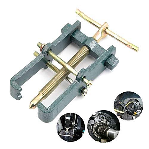 """XINYAN qun-qun 1pc 3""""2 Jaw Gear Puller Mecánica Rodamiento de automóvil Removedor de Volantes Removedor de Herramientas extractores (Color : Green)"""
