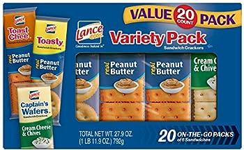 20-Pack Lance Sandwich Crackers, Toastchee Peanut Butter