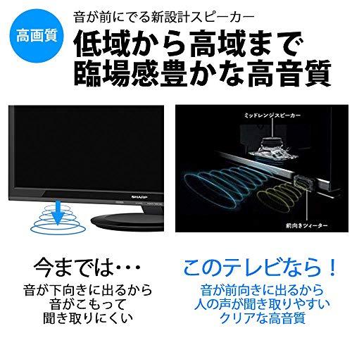 『シャープ 60V型 液晶 テレビ AQUOS 4T-C60AM1 4K HDR対応 低反射「N-Blackパネル」搭載 2018年モデル』の5枚目の画像