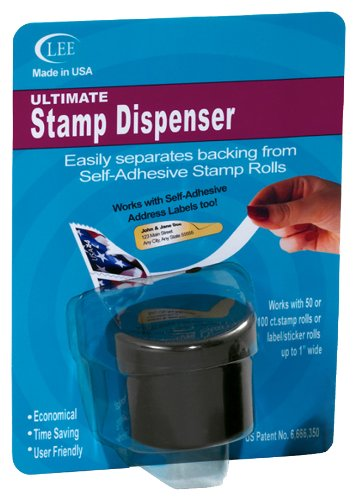 Lee Ultimate Stamp Dispenser, Black (40100)