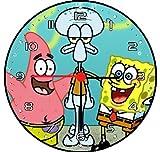 RUSCH Spongebob and Friends Wall Decor Clock