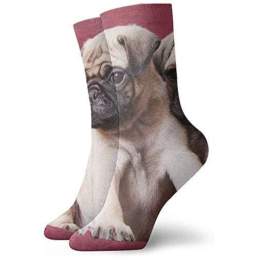 Regalo De Calcetines Pugs, Sofás, Mantas, Fotografías En Color Hombres Mujeres Novedad Divertido Crazy Crew Sock Impreso Sport Calcetines Deportivos