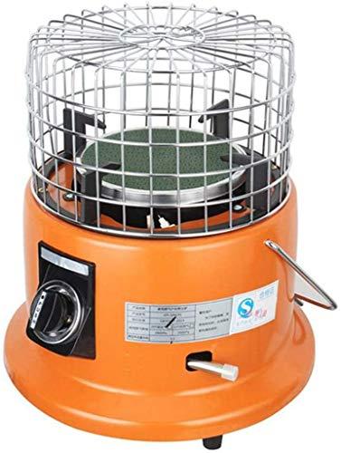 WYYW Calentador de Gas portátil para Acampar al Aire Libre, Ajustable Estufa de Malla Protectora Cubierta de licuefacción de Calefacción, Gas Multifuncional Heates para la Pesca Inicio Hielo