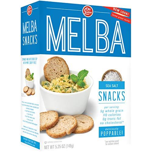 Old London Melba Snacks, Sea Salt, 5.25 Ounce (Pack of 12)