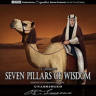 Seven Pillars of Wisdom audiobook cover art