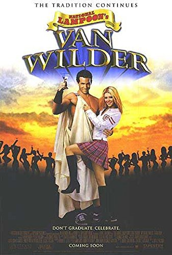 VAN WILDER (2002) Original Movie Poster 27x40 - Dbl-Sided - Ryan Reynolds - Tara Reid - Time Matheson - Kal Penn