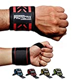 Protectix Handgelenk Bandagen - Wrist Wraps [2er Set] 45cm Handgelenkbandage für Kraftsport,...