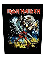 Iron Maiden Backpatch Number Of The Beast 公式 新しい ブラック Sew On 36Cm X 29Cm