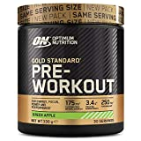 Optimum Nutrition Gold Standard Pre Workout Energy Drink Powder with Creatine Monohydrate, Beta Alanine, Caffeine and Vitamin B Complex, Pineapple, 30 Servings, 330 g
