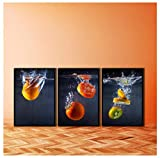 DrCor Lienzo Pintura Arte de la Pared Ciruela Tomate Fruta confitada Carteles e Impresiones...