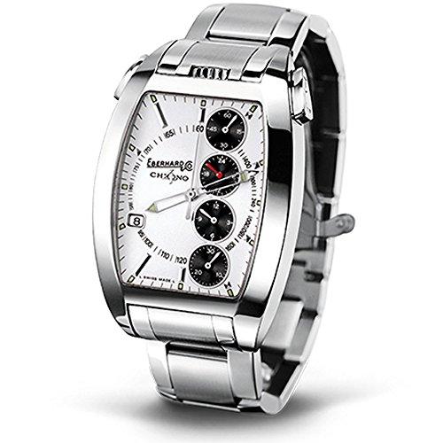Eberhard & Co. Chrono 4temerario Orologio Bracciale Orologio automatico in acciaio inox, nuovo