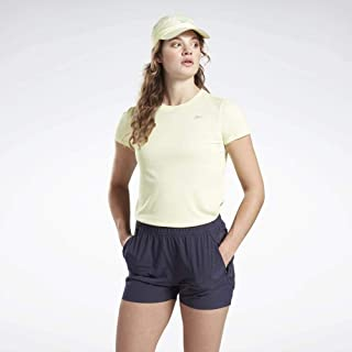 Reebok Women's Running Essentials Short Sleeve T-Shirt, Lemon Glow