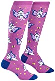 Sock It to Me, Catterfly, Women's Knee-High Funky Socks, Butterfly Cat Socks