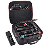Retear Travel Carrying Case for Nintendo Switch Game Storage Accessories Bag